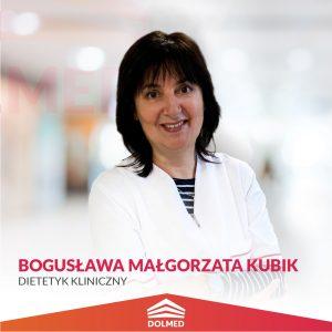 Bogusława Małgorzata Kubik DOLMED Dietetyk Kliniczny1