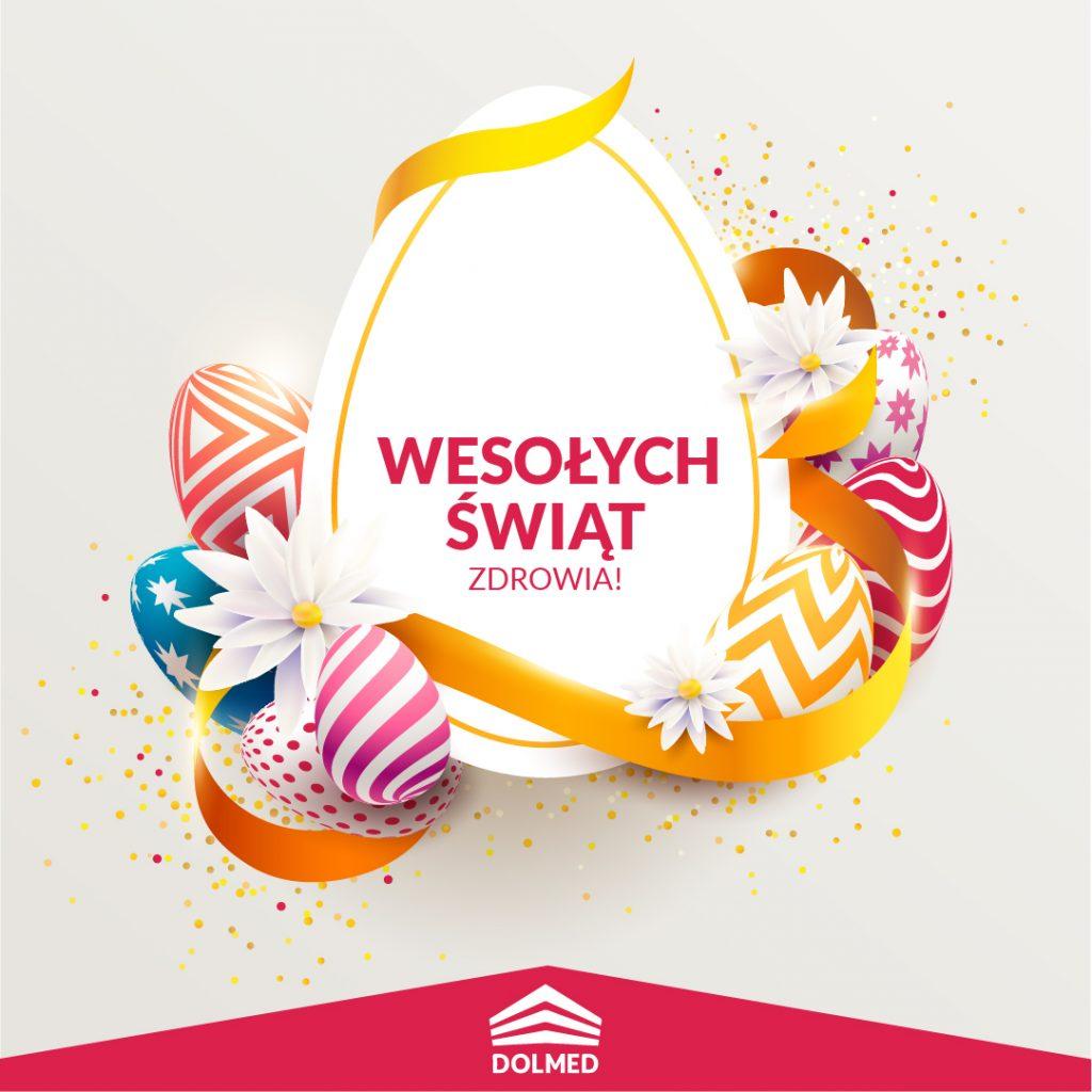 Życzenia Wielkanoc 2021 DOLMED